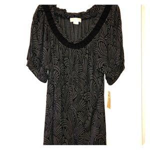 Michael Kors 1X cute blouse